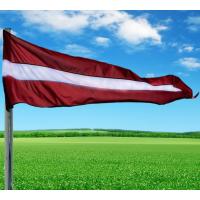 Latvijas valsts karoga vimpelis 270x80 cm mastam