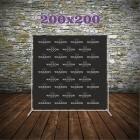 FOTOSIENA/PressWall 200x200 cm