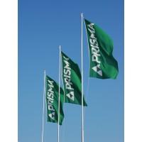 Reklāmas / firmas / individuāls karogs 150x75 cm