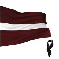 Latvijas valsts karogs 150x75 cm - Specializētais audums