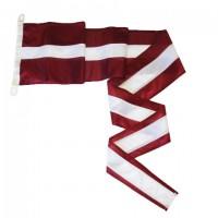 Latvijas valsts karoga vimpelis 270x35 cm mastam