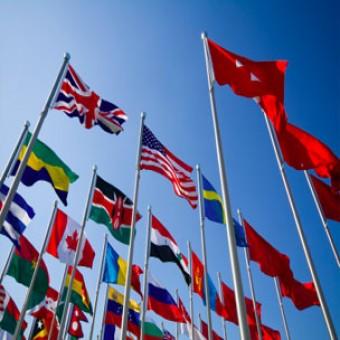 Jebkuras valsts karogs 150x75 cm