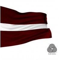 Latvijas valsts karogs vilnas 150x75 cm