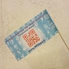 Papīra karodziņi 10x20 cm (5000 gab.)